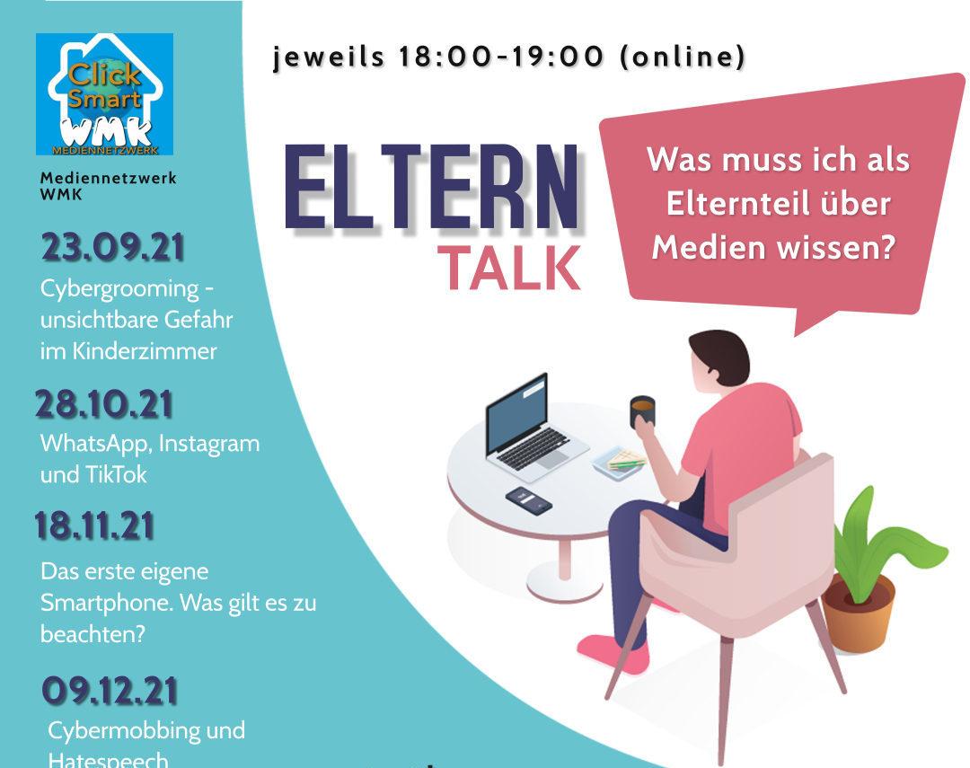 Online-Elterntalk vom Mediennetzwerk WMK startet